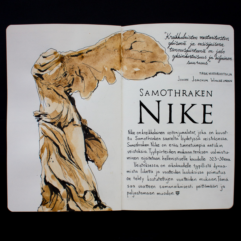 Nike of samothrake